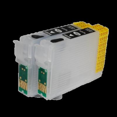 Перезаправляемые картриджи (ПЗК) для Epson WorkForce K101, K201, K301, T1361x2 шт. Yuxunda