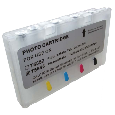 Набор картриджей ПЗК (T5846) для Epson PictureMate PM240/260/280/290