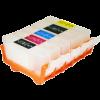 Набор картриджей ПЗК (PGI-525Bk,CLI-526BK/C/M/Y) для Canon Pixma iP4850/MG5250/MG5150/chip/ 5шт Yuxunda