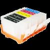 Перезаправляемые картриджи (ПЗК) (PGI-5Bk,CLI-8BK/C/M/Y) для Canon Pixma  iP4200/5200 комплект 5 шт без чипов