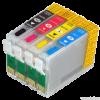 Перезаправляемые картриджи (ПЗК) (T1701-1704) для Epson XP-33/103/203/303/306/403/406 комплект 4 шт. с чипами