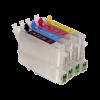 Перезаправляемые картриджи (ПЗК) (T0551-T0554) для Stylus Photo R240 комплект 4шт с чипами