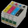 Перезаправляемые картриджи (ПЗК) (T0921-0924) для Epson St Photo C91/Т26/CX4300/TX106/TX109 /T27/TX117/TX119 комплект 4 шт с чипами