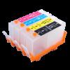Перезаправляемые картриджи (ПЗК) (920) для HP Officejet 6000/6500/7000/7500 комплект 4 шт с чипами